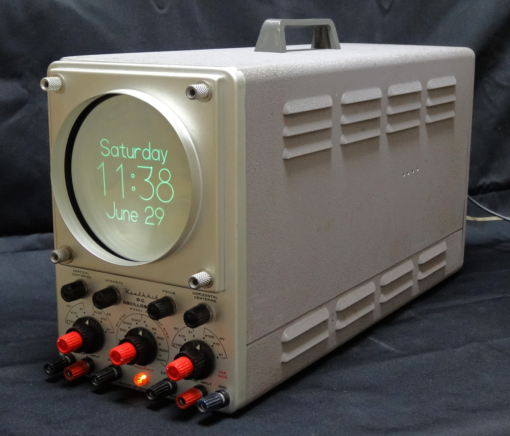Heathkit OR-1 Oscilloclock