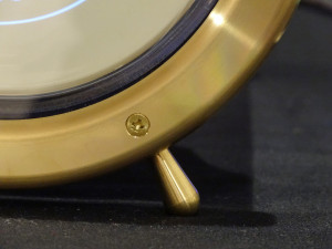 Model 1-S brass feet