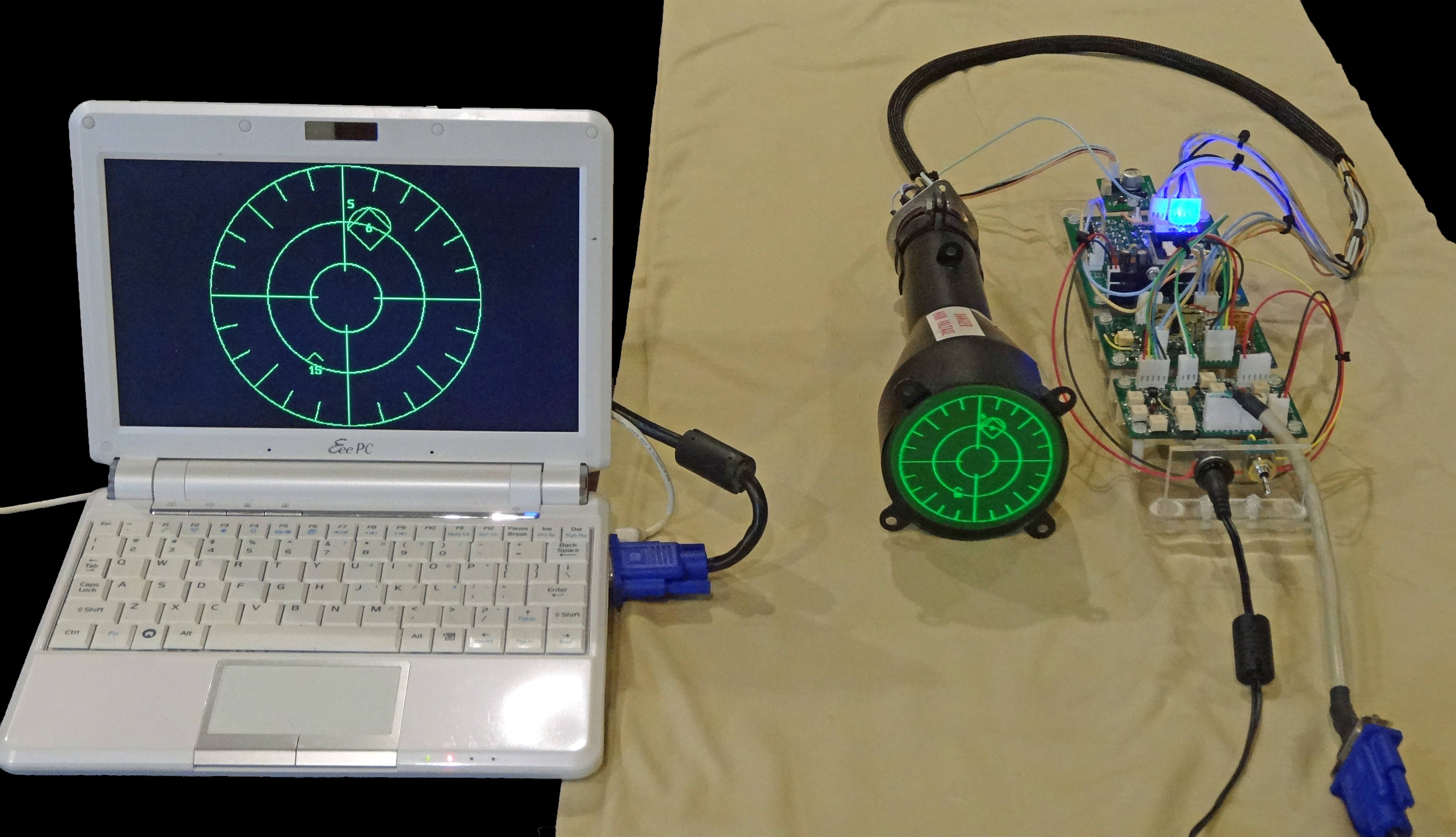 Oscilloclock Com Handcrafted Scope Clocks With Circle