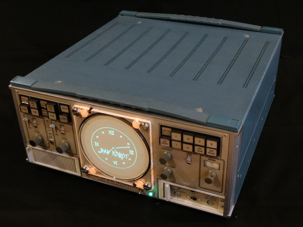 Tek 520 VectorClock - S/N 002 (image published with permission of the owner)
