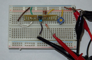 ... breadboarded up and ready for testing!