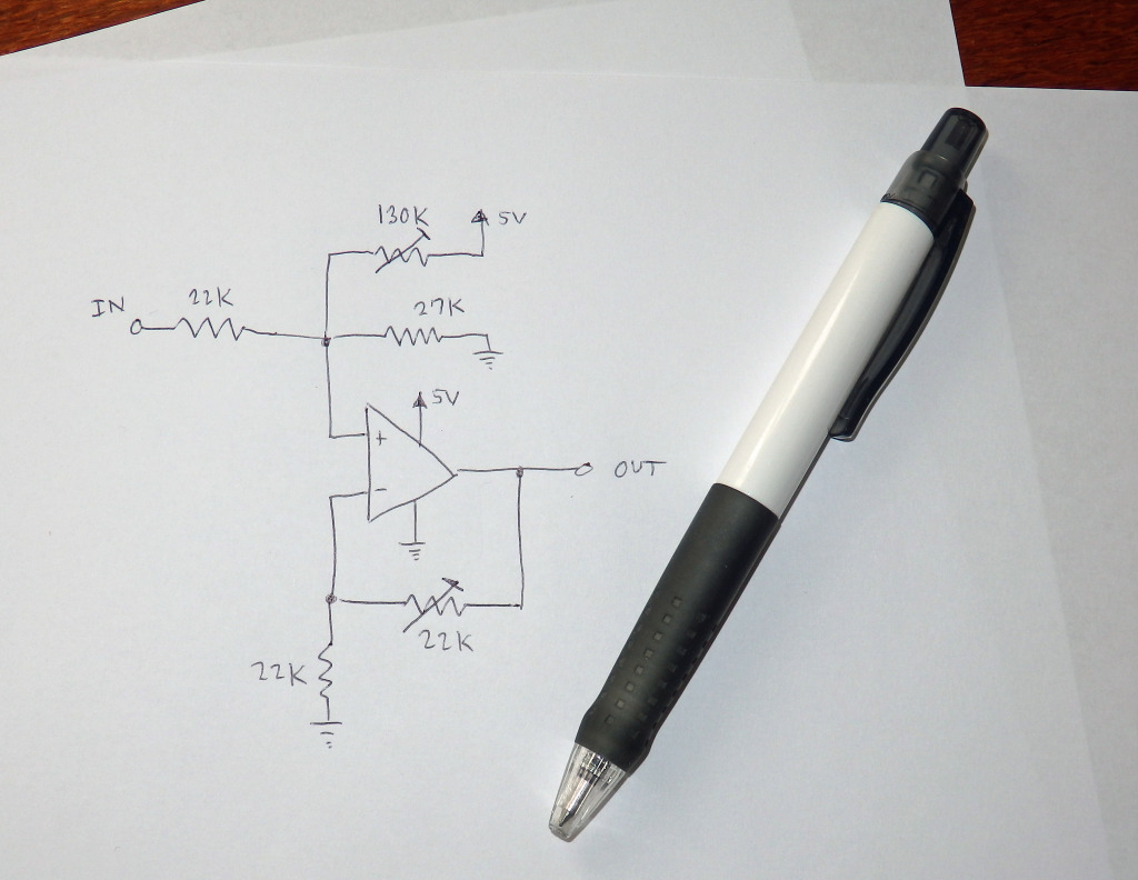 Very simple circuit for a 3.3V to 5V level adjuster