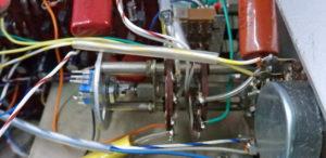 Kikusui 537 Oscilloclock - control mounted